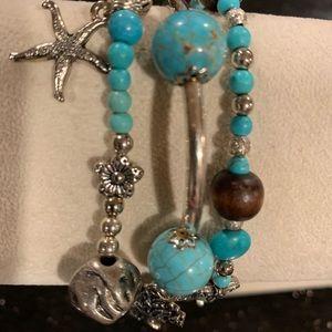 Three strand Turkoise Bracelet